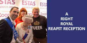 A right royal Reapit reception